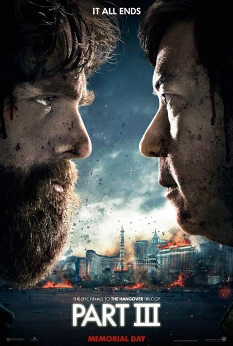 Hangover Part III Movie Poster