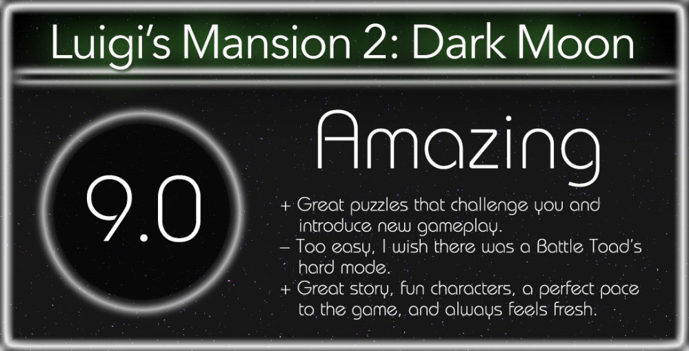 Luigis Mansion Dark Moon Review