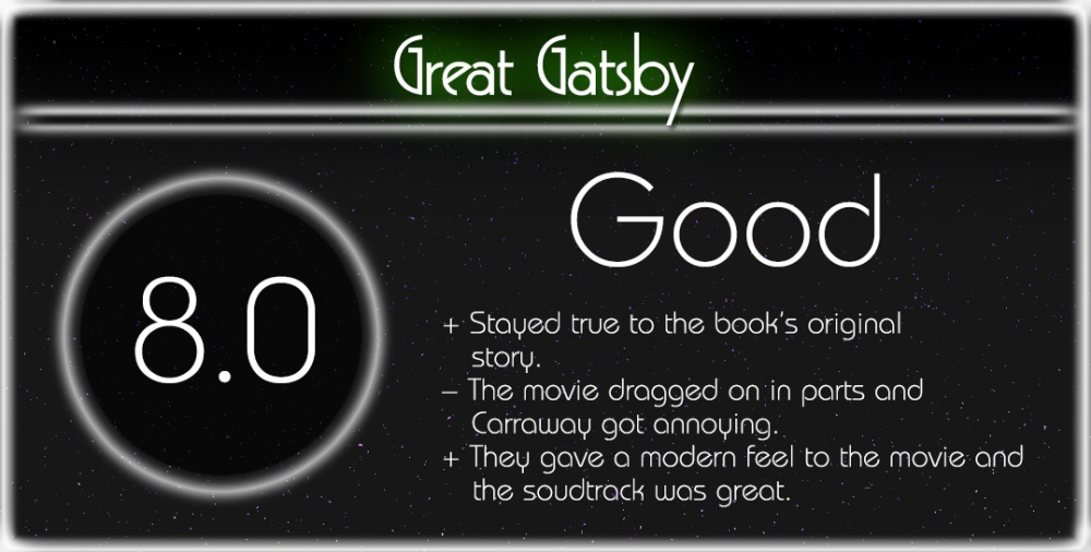 Great Gatsby Review