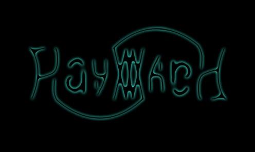Hayward Ambigram Logo Blue