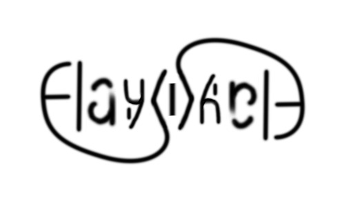 Hayward Ambigram Logo H Change