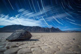 The Racetrack Star Trails